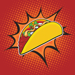 Taco fast food