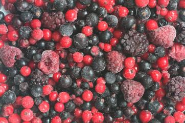 frozen mixed fruits