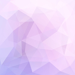 Abstract geometric style pastel background. Pink business background