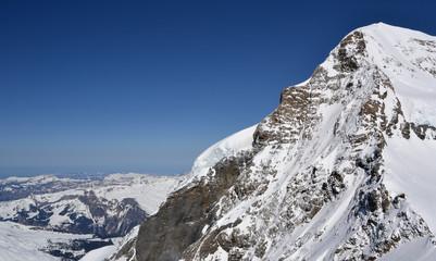 Eigernordwand im Winter