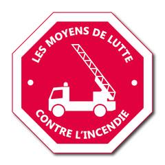 Logo camion pompiers.
