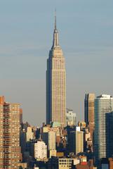 Wall Mural - Empire State building closeup, Manhattan, New York City