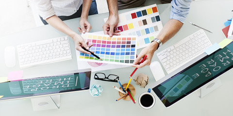 Design Studio Creativity Ideas Teamwork Technology Concept