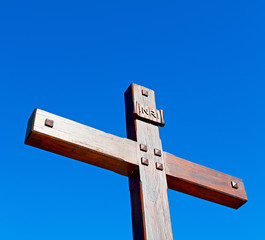 catholic     abstract sacred  cross in italy europe and the sky