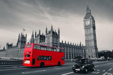 Wall Mural - Bus in London