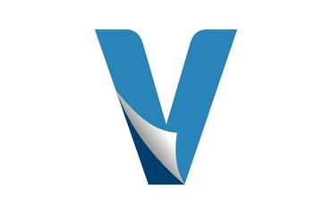 logo letter V