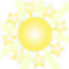 Солнечный фон