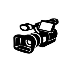 Camcorder simple icon