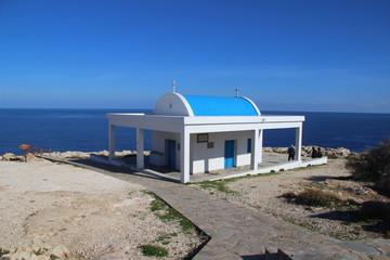 Kirche am Fuß von Cap Greco – Kapelle Agioi Anargyroi
