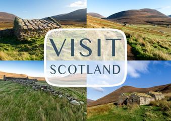 Orkney islands, Scotland as travel destination concept
