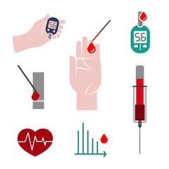 Diabetes Icon vector