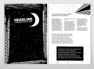 Grunge Tire Brochure