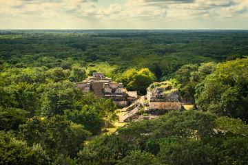 Ek Balam Mayan Archeological Site. Maya Ruins, Yucatan Peninsula