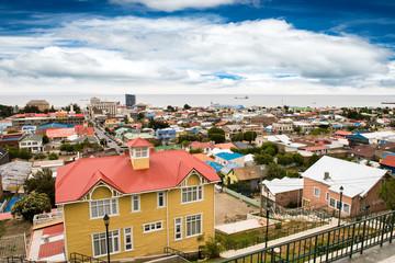 Punta Arenas cityscape, Chile