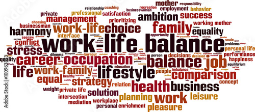 What do relationship problems because work life balance