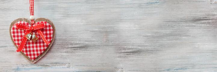 Hintergrund Holz mit Herz