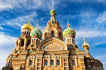 Church of the Resurrection of Christ (Saviour on Spilled Blood), St Petersburg , Russia