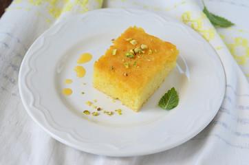 Orange Pie, Greek Revani Cake