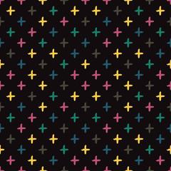 In de dag Draw seamless pattern