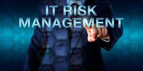 Consultant Pushing IT RISK MANAGEMENT