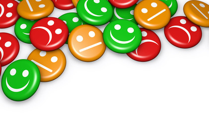 Customer Feedback Quality Survey Buttons
