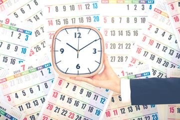 カレンダーと時間管理