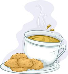 Tea Coffee Cookies