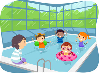 Stickman Kids Indoor Swimming Pool