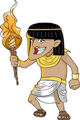Egyptian Torch