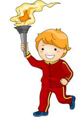 Torchbearer Boy