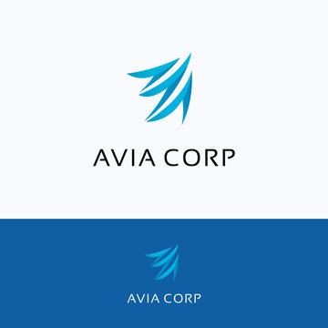 Avia corporation Logo