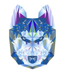 wolf poligon