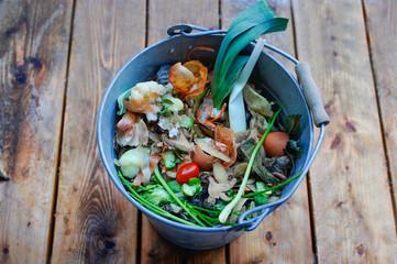 Biomüll zur Mülltrennung