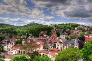 Blick auf Eisenach Thüringen