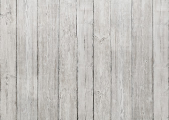 White Wood Planks Background, Wooden Texture, Floor Wall Plank