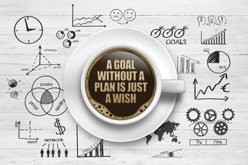 A Goal without a plan, is just a wish