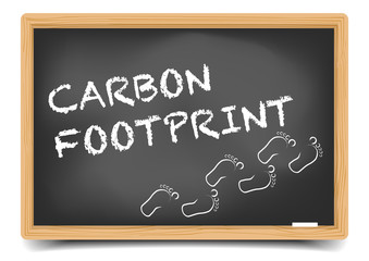 Blackboard Carbon Footprint