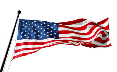 The national flag of the United states