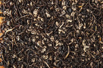 Tea background  close-up