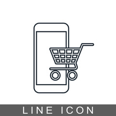 icon mobile shopping