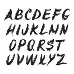 quick brush font