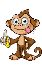 Cheeky Monkey Character