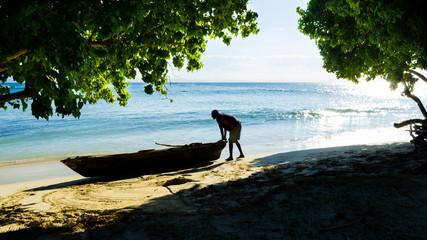 Dominican Republic - Cayo Levantado (Bacardi) isle beach