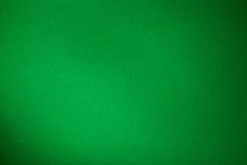 green billiards cloth color texture close up
