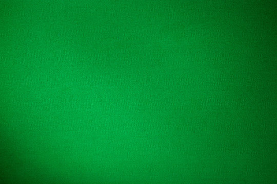 green billiards cloth color texture close up