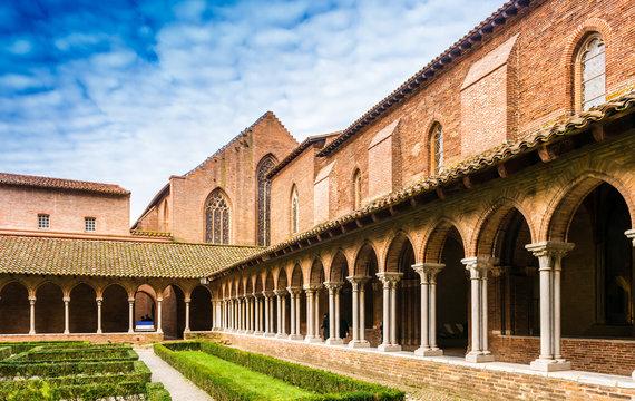 Cloitre du couvent des Jacobins à Toulouse