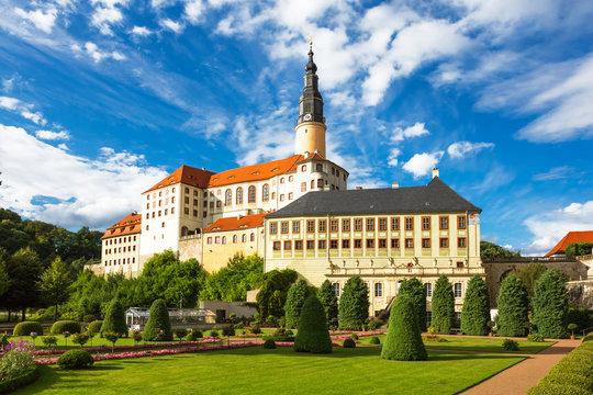 Weesenstein Castle near Dresden, beautiful view, Saxony, Germany