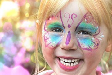 Farben, Schminken, Karneval