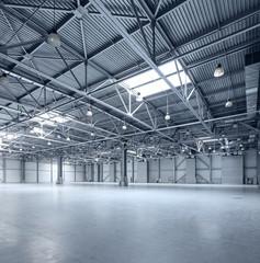 Modern empty storehouse