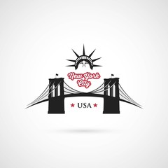Brooklyn Bridge - New York symbol